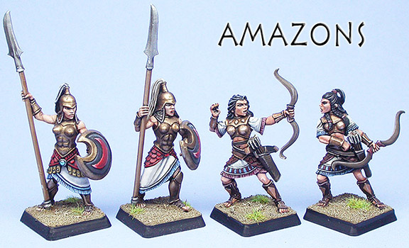 Painted Amazon examples