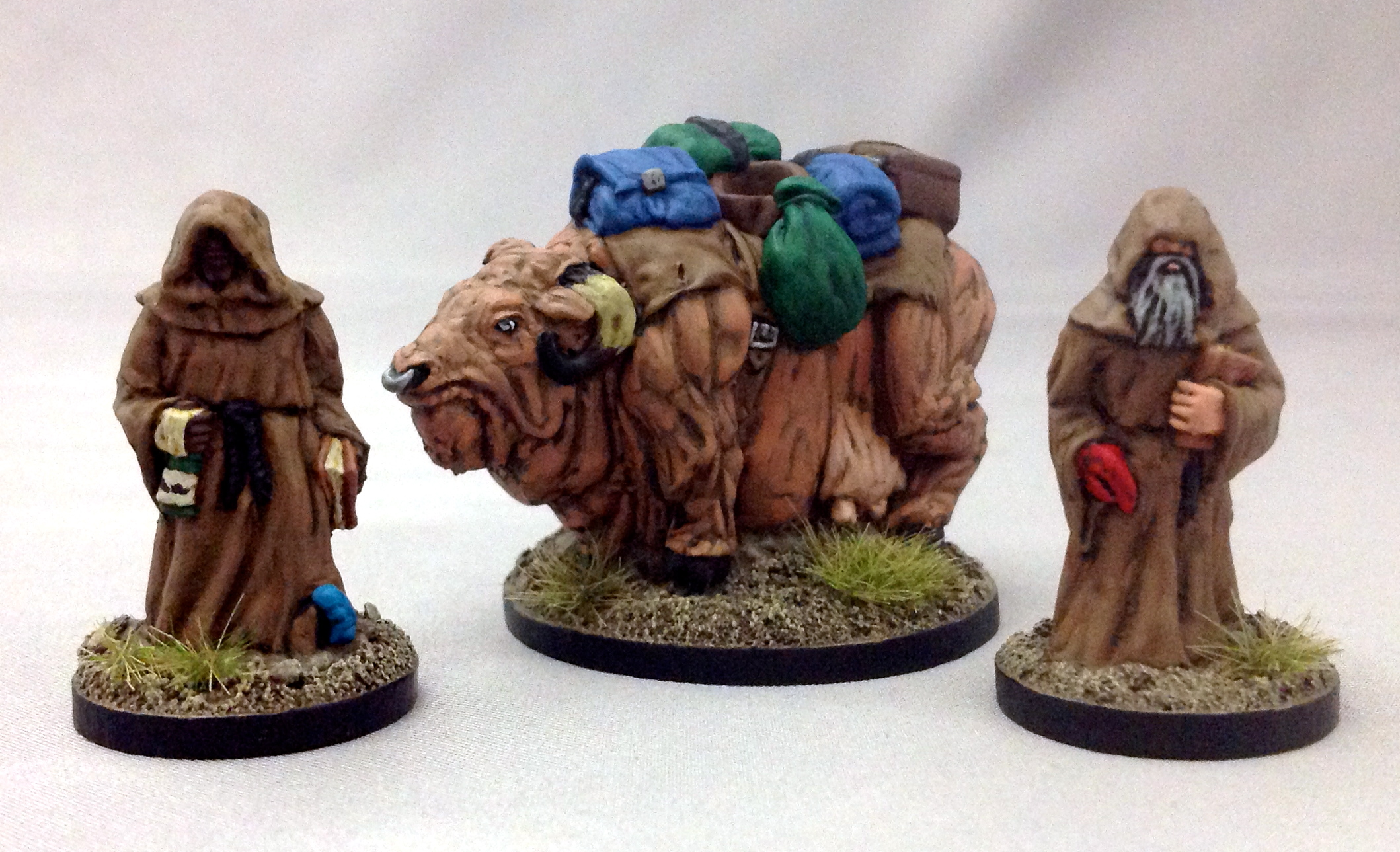 The finished Wasteland Pilgrims marching to oblivion!