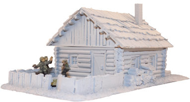 1073 Russian Peasant House