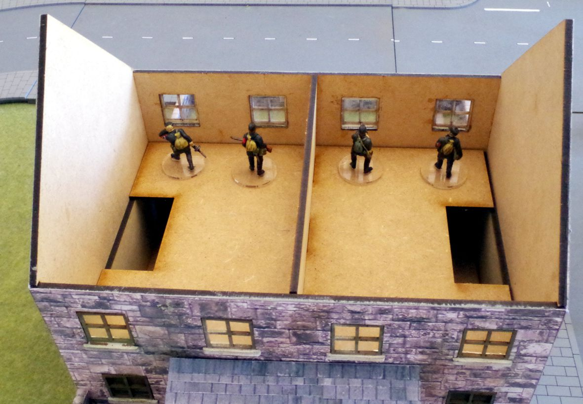 28mm modern building first floor