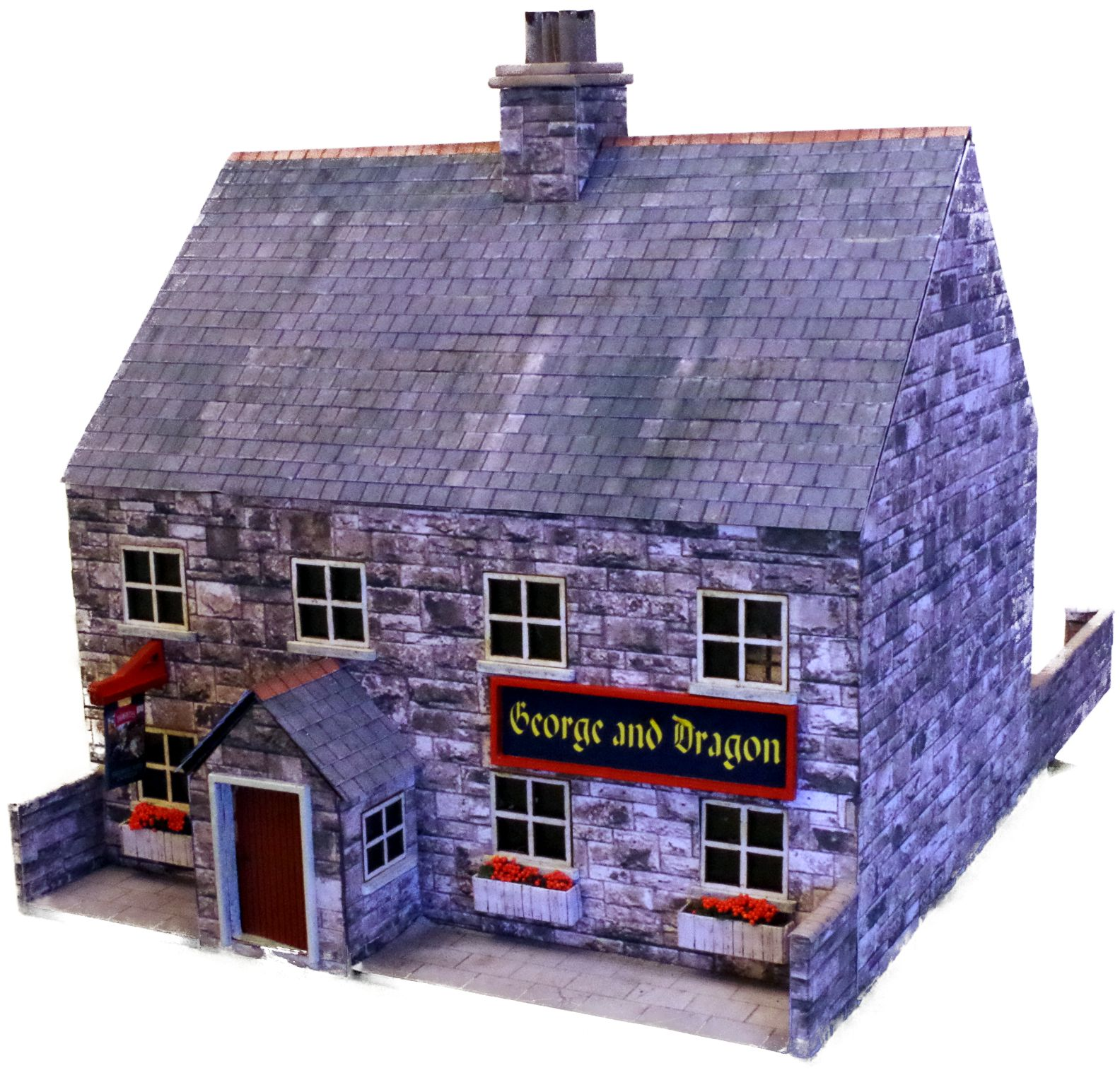 28mm pub George and dragon 2