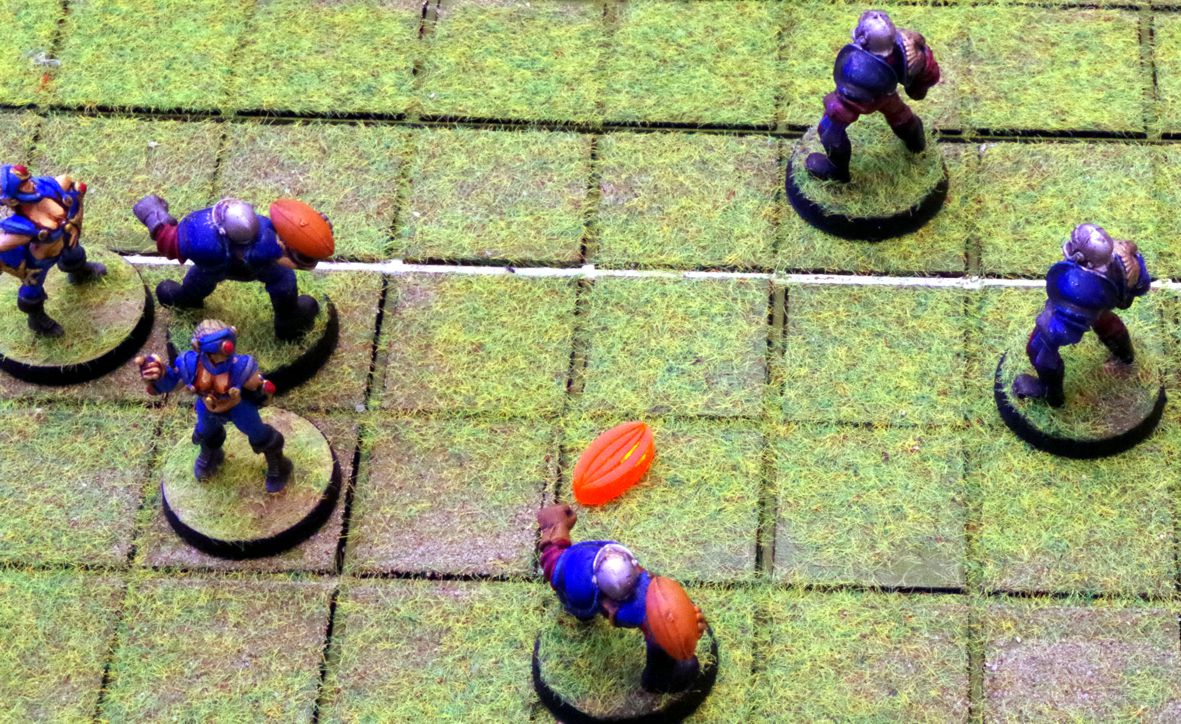 Bloodbowl ball 2