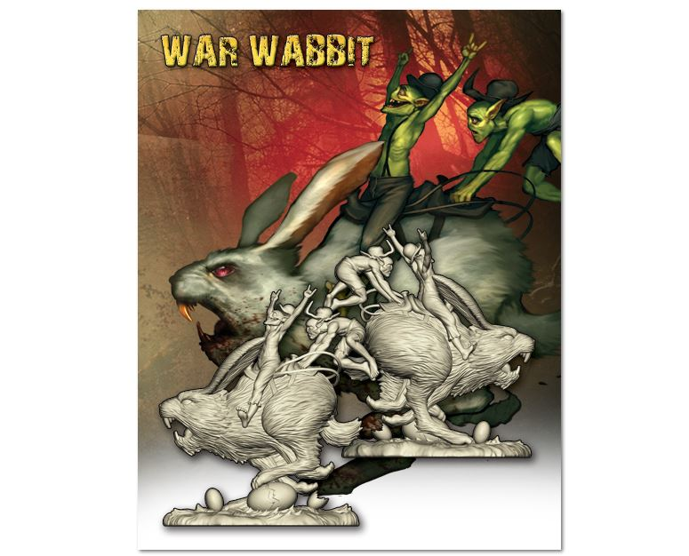 Wyrds easter sale happening now tabletop gaming news tgn wyrd games has an easter sale running this week only you can get yourself a new war wabbit from their webshop they also have specials going on where you solutioingenieria Images