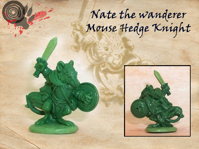 Mouse Hedge Knight