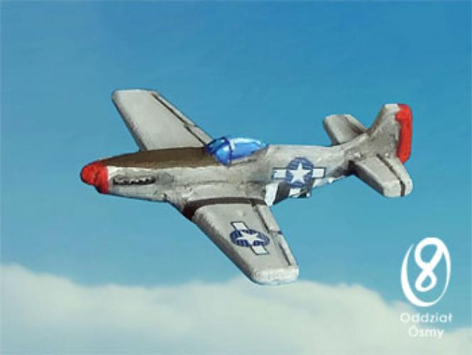 P-51D Mustang (8 pcs) The 'bubble-top' version of this famous fighter