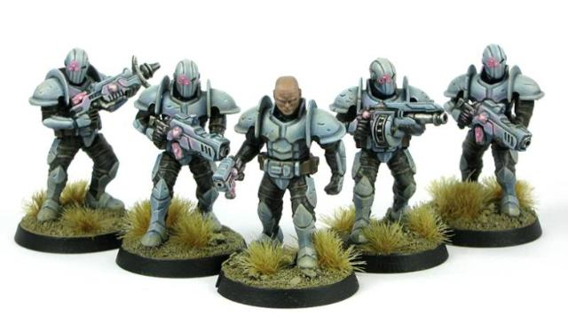 Plastic Karist trooper models