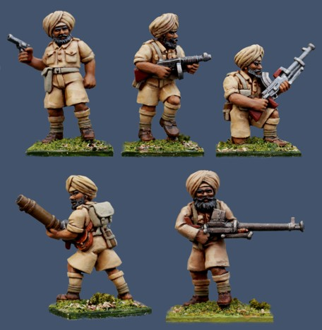 Pulp Figures British Empire PBT06 Sikh Special Weapons