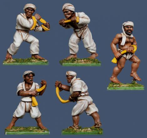 Pulp Figures British Empire PBT20 Thuggee Stranglers