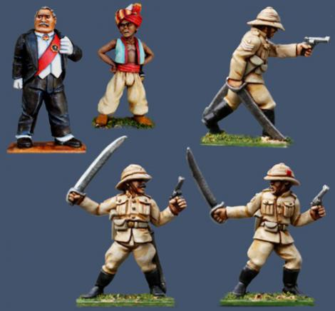 Pulp Figures British Empire PBT26 1930s version of The Sergeants 3