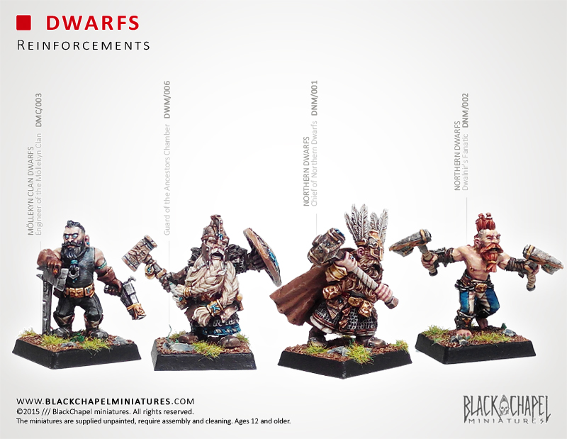 New Dwarves Released by BlackChapel Miniatures | Tabletop ...