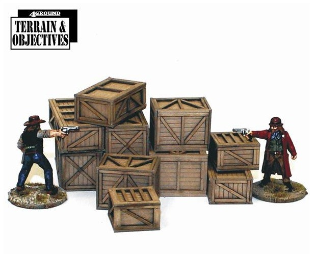 Shipping Crates and Freight Boxes