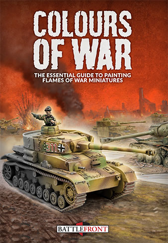 Colours Of War - the new guide to painting WWII miniatures