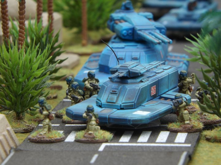 Infantry and APCs 2