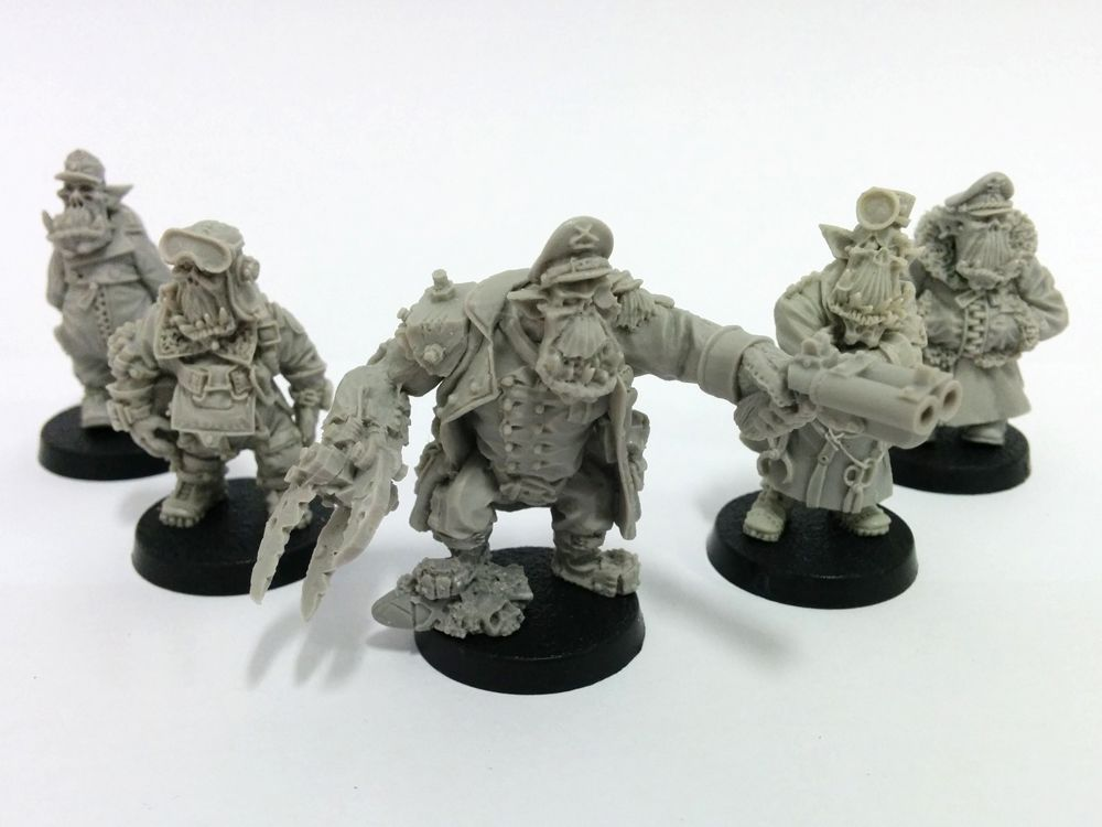 Kromlech Orc Character Set Review