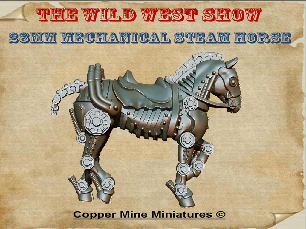 Mechanical Steamhorse