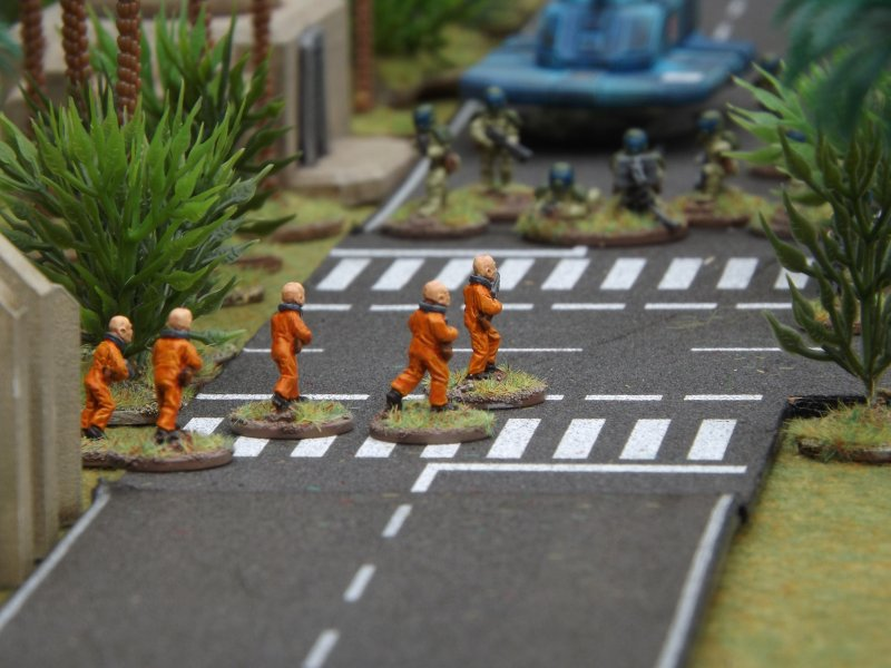Penal Troopers in action