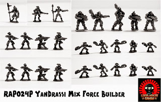 RAP024P YanDrassi Force Builder pack