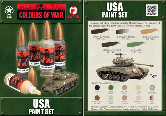 USA Paint Set (CWP120)