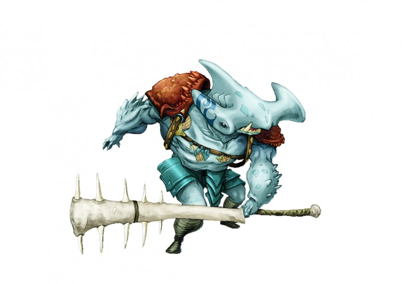 Carcharian Pit Fighter