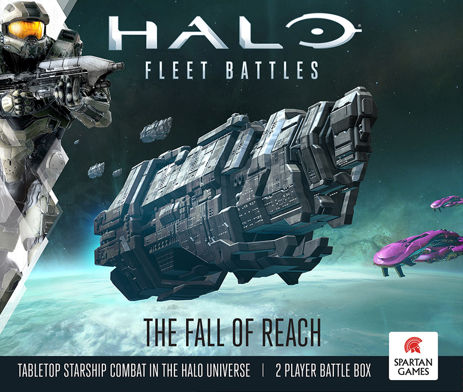 Spartan Games Announces Halo Fleet Battles Launch Date