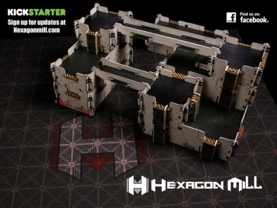 Hexagon Mill