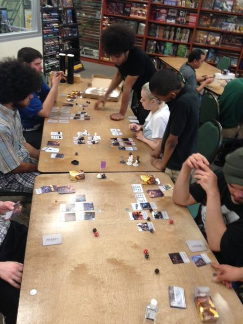 Ophidian Wars live play