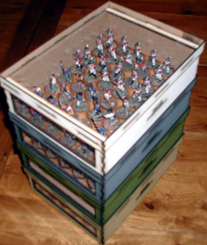 Painted Warchest 70mm Stack