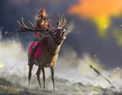 Princess Nave Khra, first of the Stag Riders