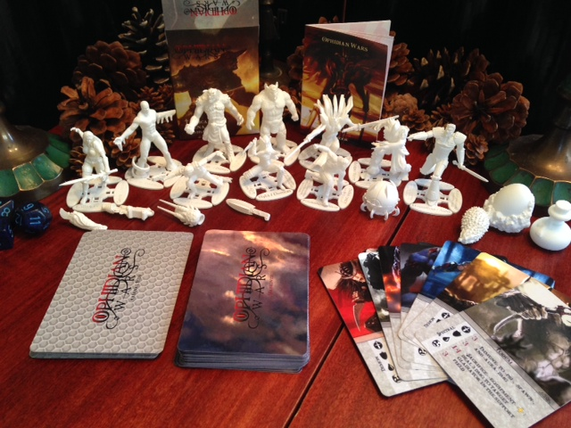 Selection of Ophidian Wars components