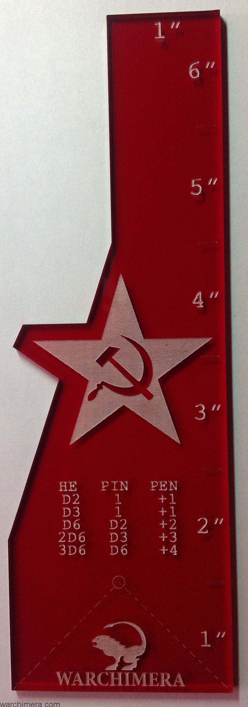 Soviet Union range ruler