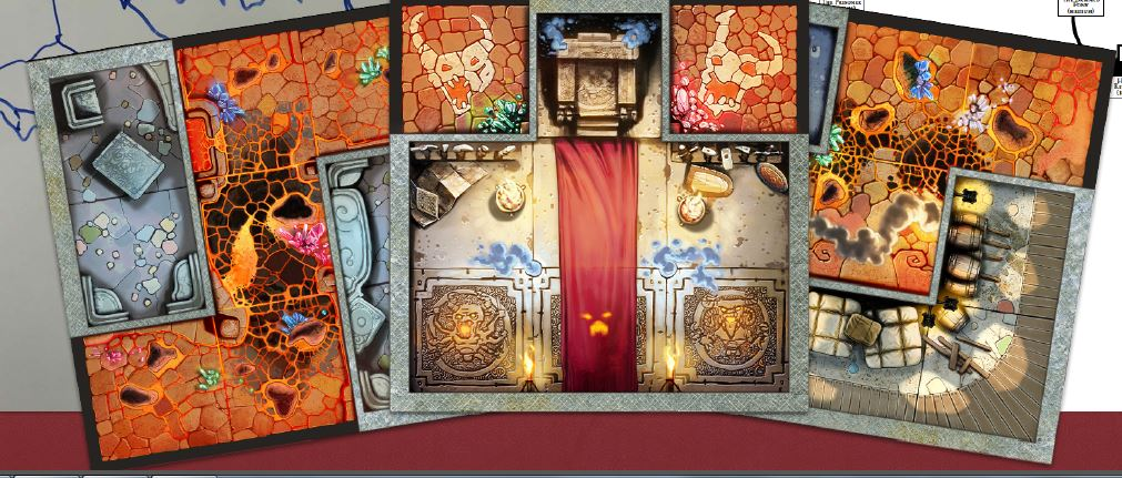 Image result for arcadia quest inferno tiles