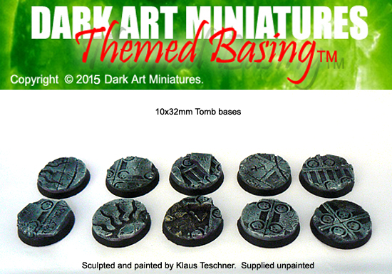32mm Tomb themed bases