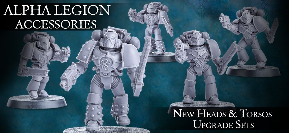 Alpha Legion Accessories