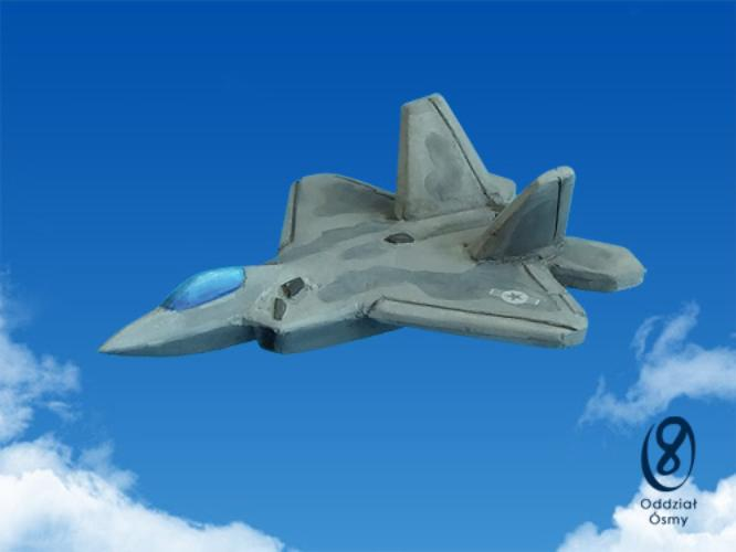 F-22 Raptor (6 pcs) Stealth fighter