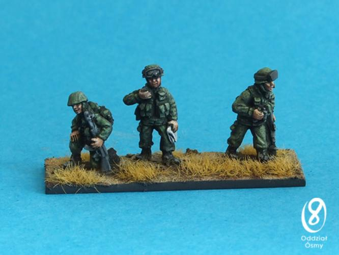 'Green Men' - command (6 pcs) A command section for 'green men' in 3 poses