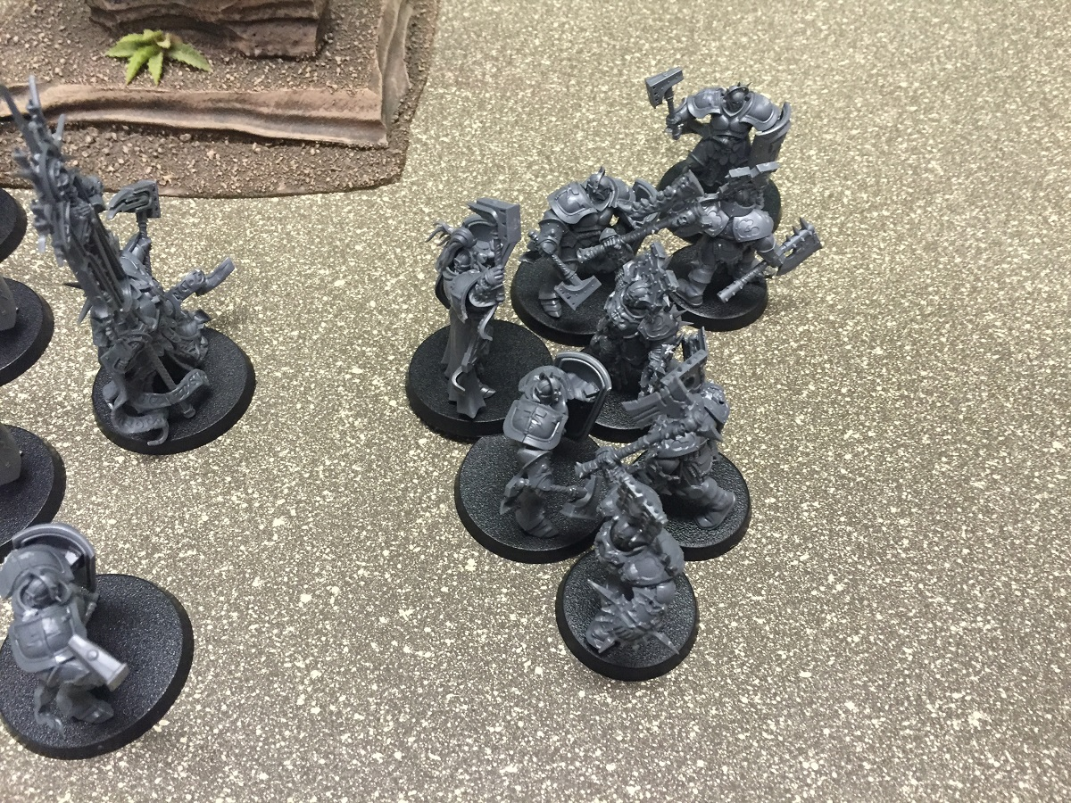 Melee combat, the heart of AoS.