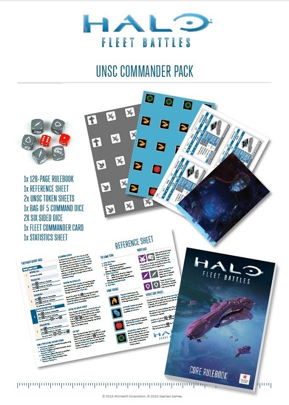 UNSC Commander Pack