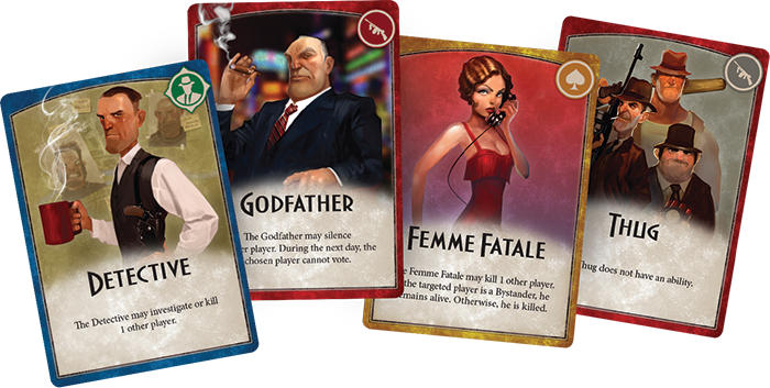 Mafia Vendetta Party Card Game Coming From Fantasy Flight Games