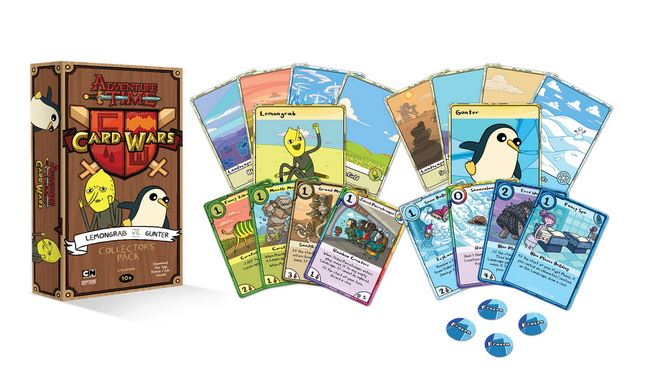 Adventure Time Card Wars Collector Pack 5 Lemongrab Vs Gunter Now Available