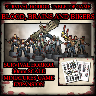 Blood, Brains and Bikers CD cover