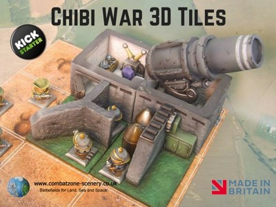 Chibi War 3D Tiles