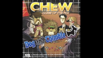 Dog and Thimble Chew