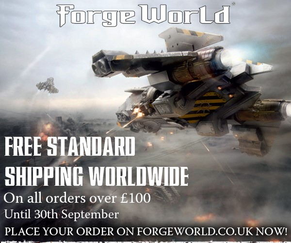 Forge World Free Shipping