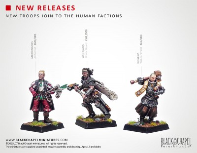 NEW RELEASES, New troops join to the Human factions