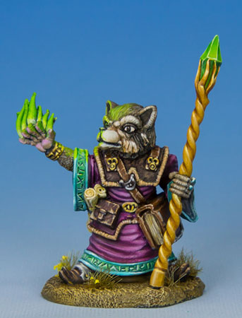 Raccoon Mage