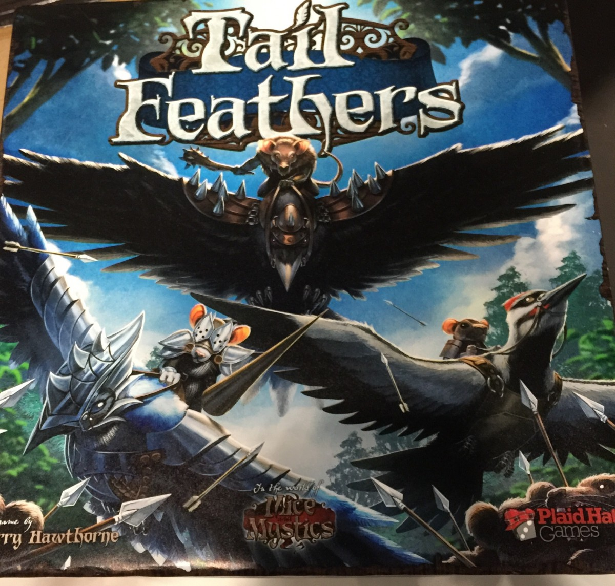Tail Feathers Box