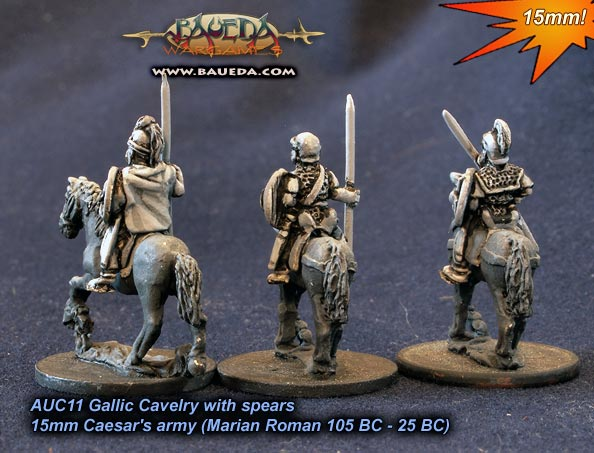 AUC11 - Gallic Cavalry with spears (back) (actual production models)
