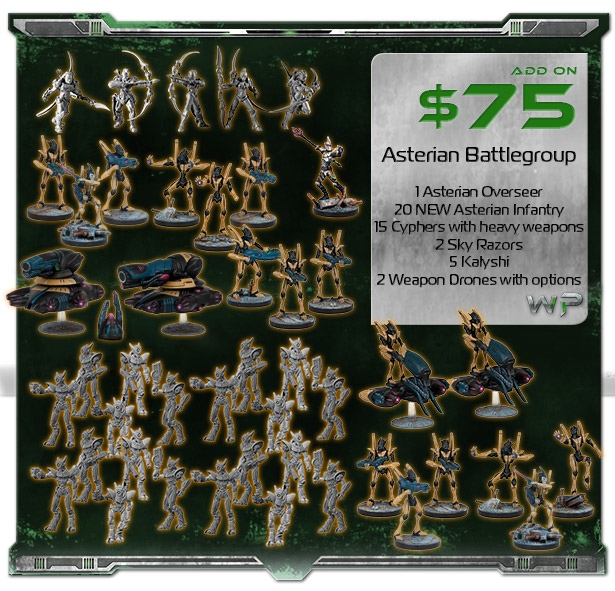 Asterian Battlegroup