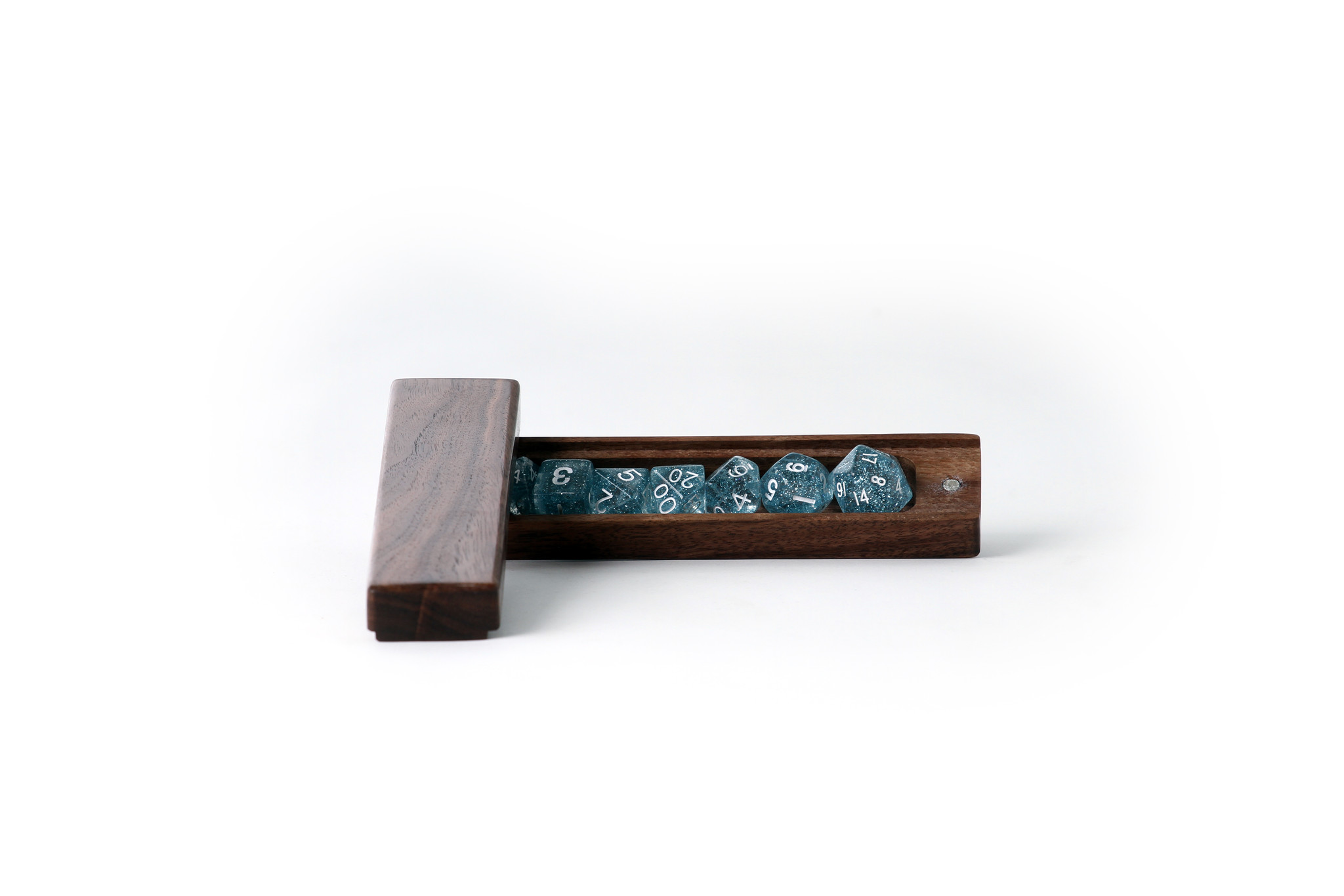 Black walnut dice box