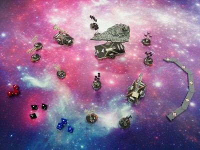 Clash of Nebulas Battle Mat